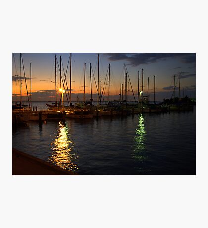 Dawn at the Marina Photographic Print