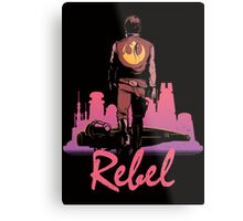 Rebel Metal Print