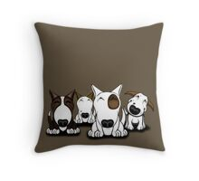 EBT Group Cartoon Design  Throw Pillow