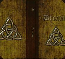 Dream Diary with Trinity Knot Ancient by cdsymbols