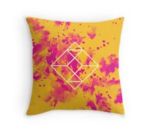 Geometry and Colors XXVII Throw Pillow