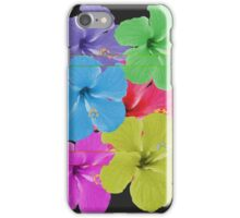 VCR Flowers iPhone Case/Skin