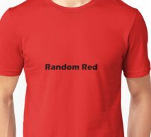 Random Red Unisex T-Shirt