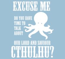 Our Lord And Saviour Cthulhu Kids Clothes