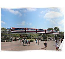 Monorail Disneyland Poster