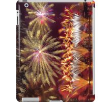 Fireworks over the Charles River.  iPad Case/Skin
