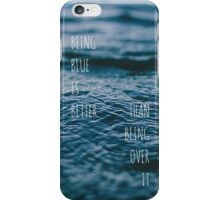 Hallelujah Lyrics (Panic! At The Disco) iPhone Case/Skin