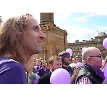 Demo for Democracy: Glasgow Photographic Print