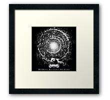 SAD PANDA - Album Cover... Framed Print