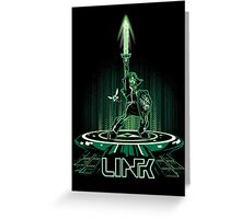 LINKTRON Greeting Card