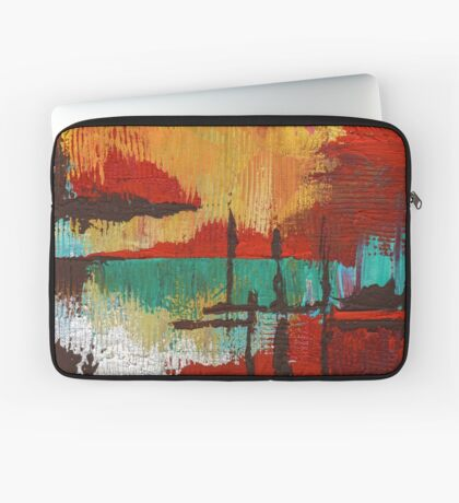 Fire in the Sky Laptop Sleeve