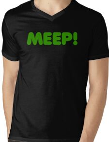 MEEP! Mens V-Neck T-Shirt