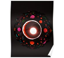 Jeweled Lamp Poster