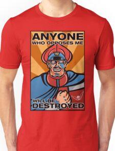 M. Bison Pop Art Street Fighter II Unisex T-Shirt