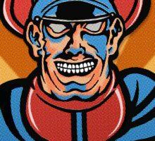 M. Bison Pop Art Street Fighter II Sticker