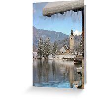 Clear alpine air Greeting Card