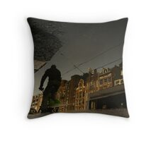Reflections of Amsterdam - Headbanger Throw Pillow