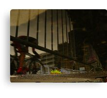 Reflections of Amsterdam - Giro d'Italia Canvas Print