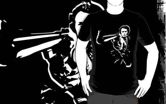 dirty harry t-shirt by ralphyboy