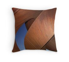 Curves at Twilight Throw Pillow