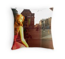 Reflections of Amsterdam - Jenny's Throw Pillow