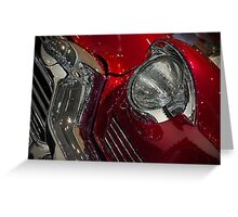 Motor Show - vintage classic Greeting Card