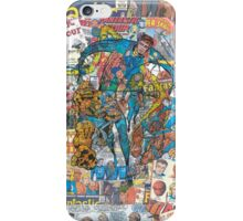 Vintage Comic Fantastic Four iPhone Case/Skin