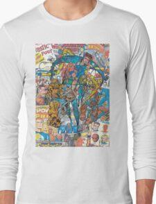 Vintage Comic Fantastic Four Long Sleeve T-Shirt