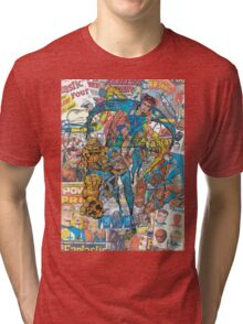 Vintage Comic Fantastic Four Tri-blend T-Shirt