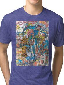 Vintage Comic Fantastic Four Tri-blend T-Shirt
