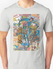 Vintage Comic Fantastic Four Unisex T-Shirt