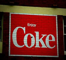 Enjoy Coke - Pyrmont Sydney by Colin Chang