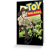 Toy Walkers (color) Greeting Card
