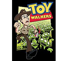 Toy Walkers (color) Photographic Print