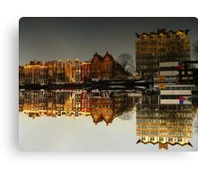Reflections of Amsterdam - Administration Canvas Print