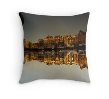 Reflections of Amsterdam - I love it Throw Pillow