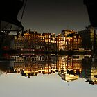 Reflections of Amsterdam - House Boats by AmsterSam