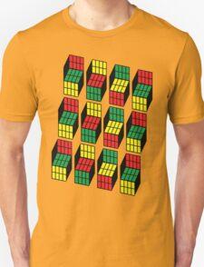 Sheldon Cooper Rubik's Cubes T-Shirt
