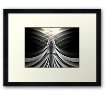 Gray Angel Framed Print