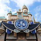 Disneyland 60th Diamond Anniversary Castle by aSliceofDisney