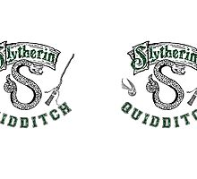 Slytherin, Quidditch, Harry Potter, Books, Movies by NerdGirlTees