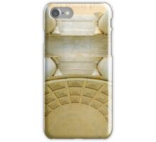 Looking Up - inside the Jefferson Memorial   ^ iPhone Case/Skin