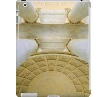 Looking Up - inside the Jefferson Memorial   ^ iPad Case/Skin