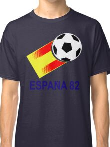 A Casual Classic iconic Espana 82 inspired t-shirt design  Classic T-Shirt