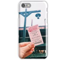 Big thunder Fast Pass iPhone Case/Skin