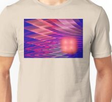 Colorful Waves Abstract Fractal Art Unisex T-Shirt