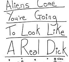 Aliens by scruffian