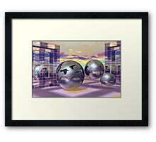 Entrance to new worlds Framed Print