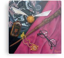 A Wizard's Tools Metal Print