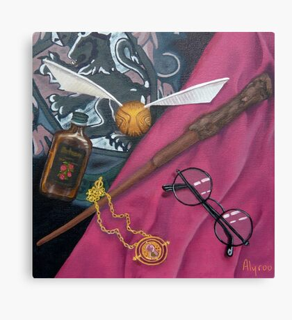 A Wizard's Tools Canvas Print